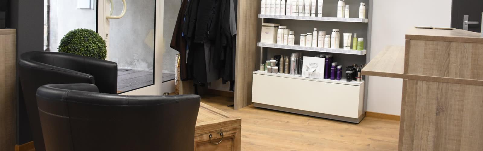 Intérieur - Salon de coiffure à Sarrebourg - Coiffure à l'Image