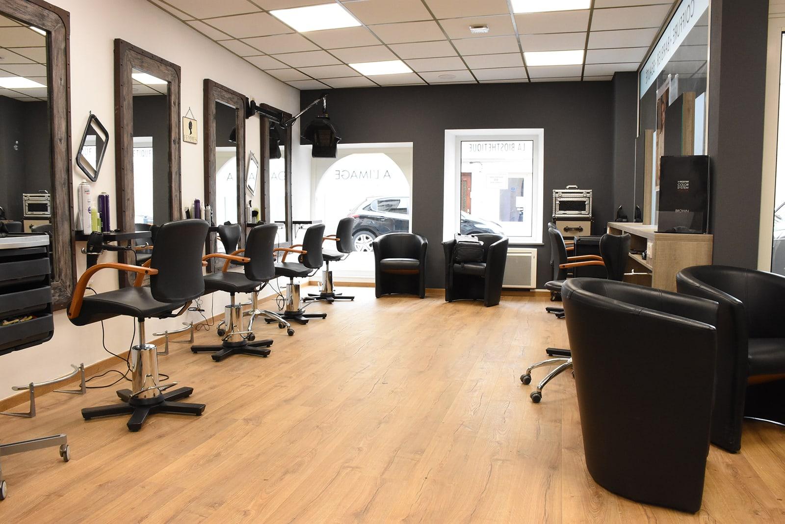 Vue intérieur Salon Coiffure à l'Image