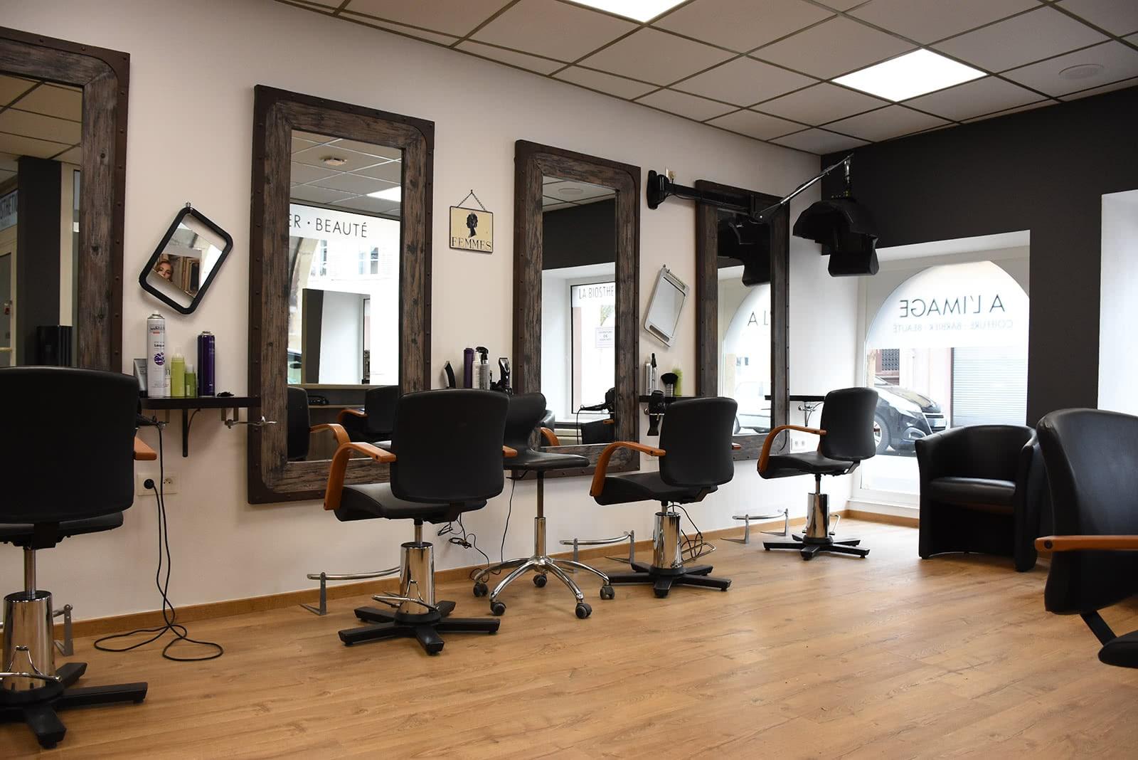 Zone de coiffure - Coiffure à l'image